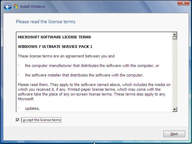 Langkah langkah instalasi sistem operasi windows 7 indri for Input keyword disini perbaris ya